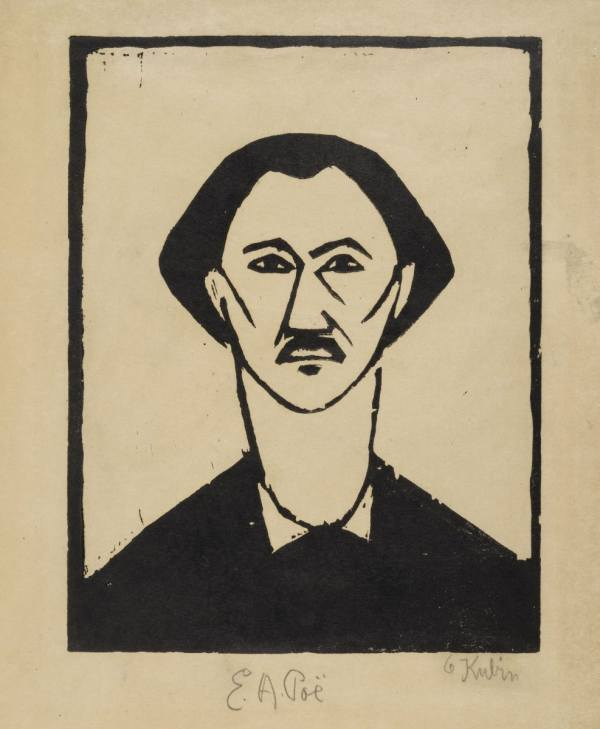 Otakar Kubín (Coubine), E. A. Poe, around 1910, National Gallery Prague