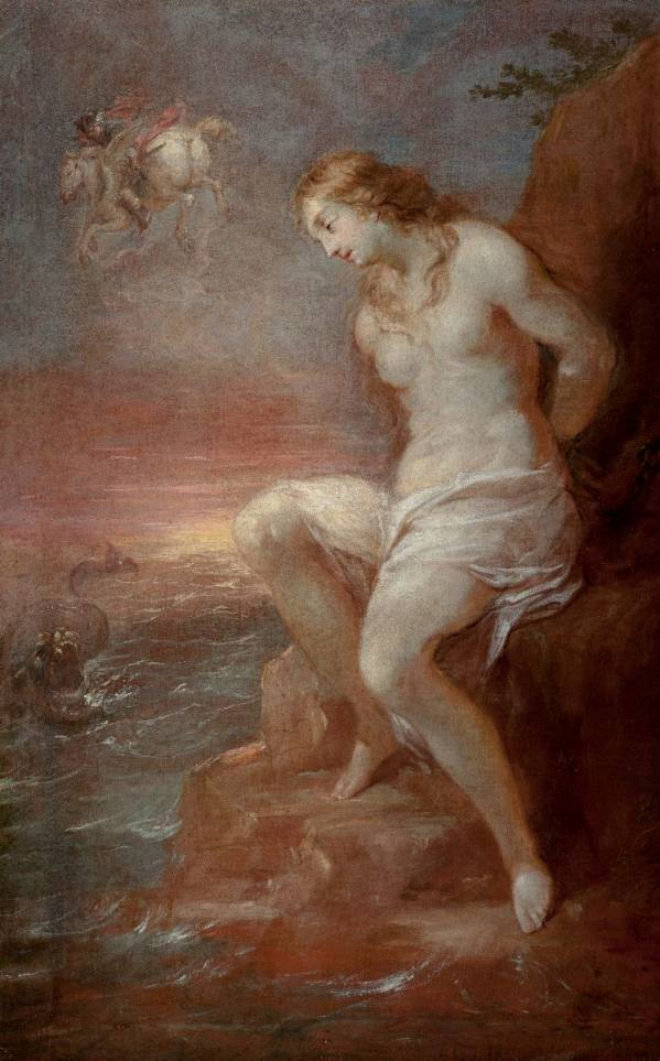 Michael Leopold Willmann (1630 Královec – 1706 Lubuš), The Release of Andromeda, after 1682