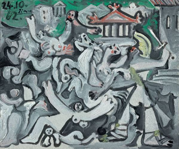 Pablo Picasso, The Abduction of Sabines, 1962