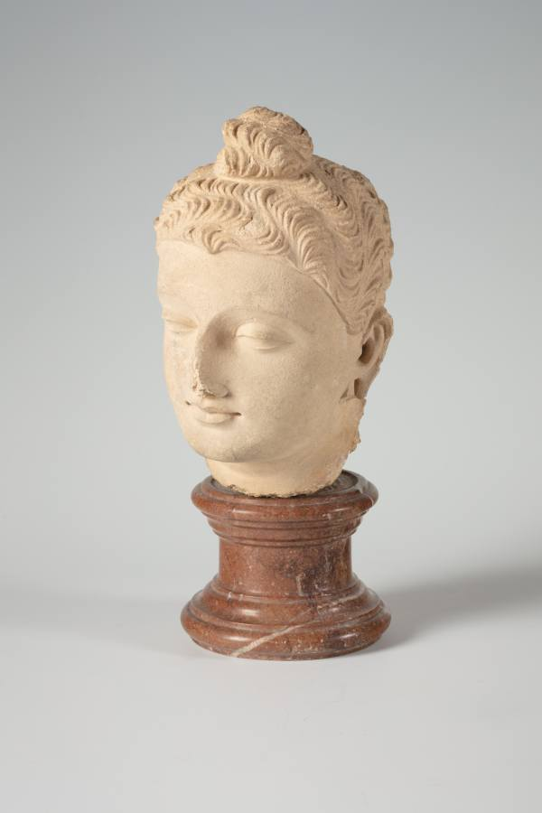Head of the Buddha, Gandhara, today's Pakistan, 3rd–4th century