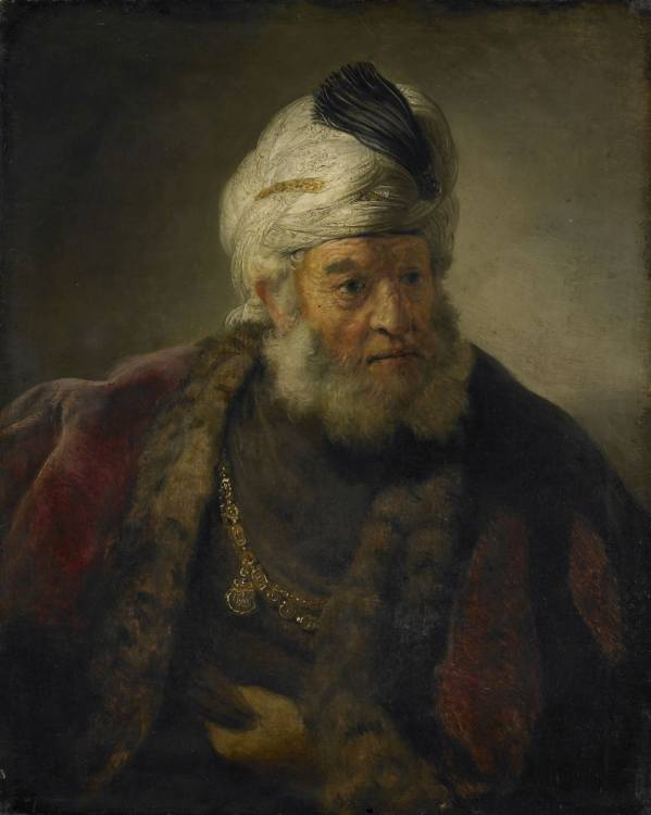 Govert Flinck, Bust of a Man in Oriental Dress, ca. 1642, National Museums, Walker Art Gallery, Liverpool