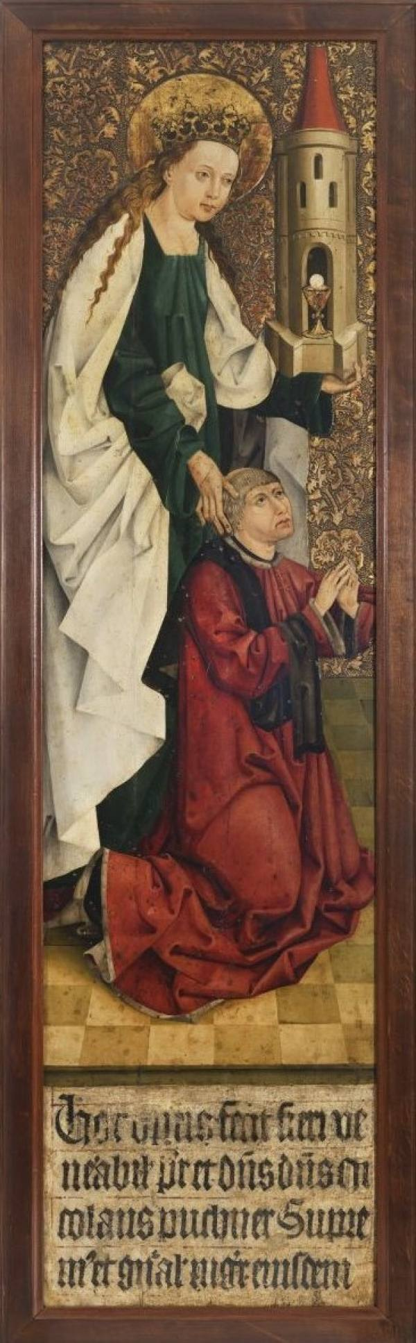Master of the Altarpiece of the Knights of the Cross with the Red Star, Altarpiece of Nicholas Puchner, Grand Master of the Knights of the Cross with the Red Star, called Puchner Ark, 1482