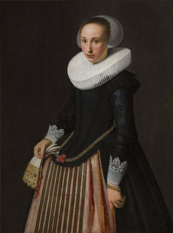 Nicolaes Eliasz. Pickenoy, Portrait of a Fifteen-Year-Old Young Lady, 1626, National Gallery Prague