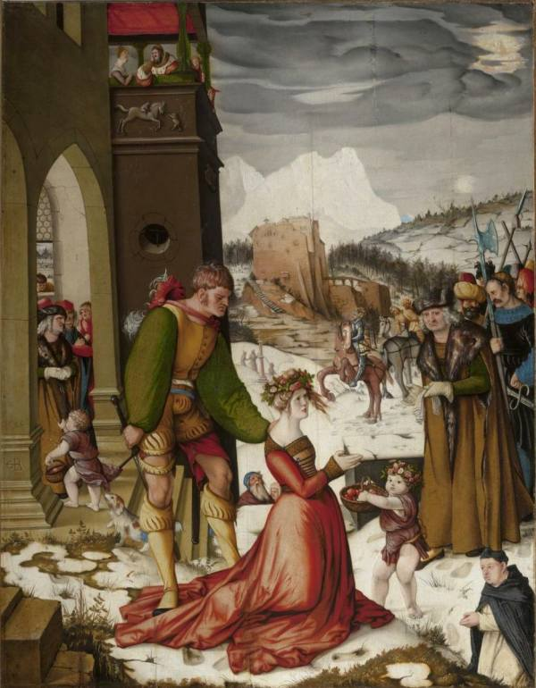 Hans Baldung Grien , The Beheading of Saint Dorothy, 1516, National Gallery Prague