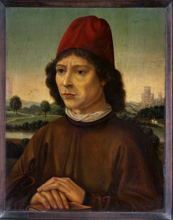 Hans Memling – a 20th-century forgery, Portrait of a Man, National Gallery Prague