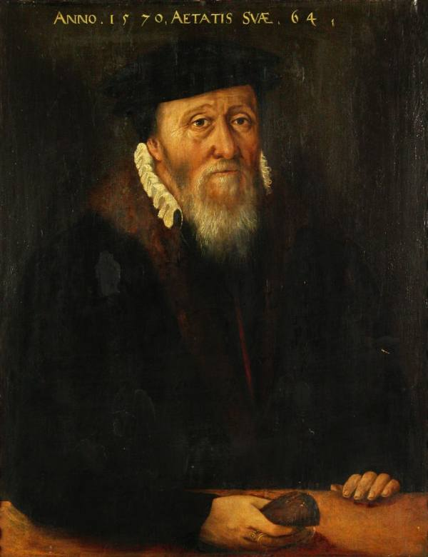 This portrait is marked with the date 1570. But is the date genuine?