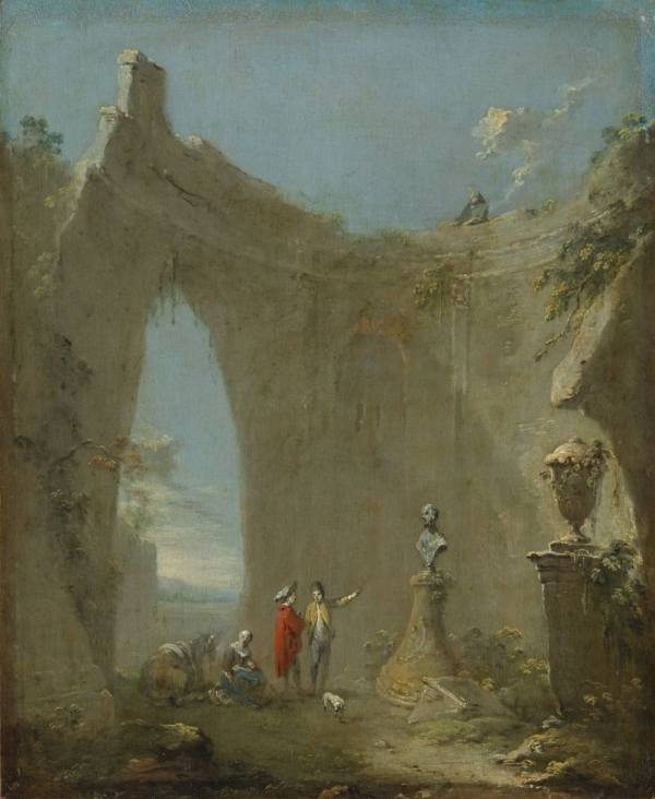 Norbert Grund (1717–1767), Roman Ruin, around 1760