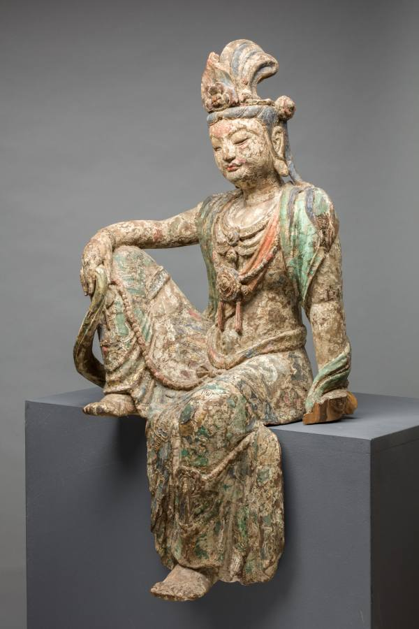 Bodhisattva Guanyin Seated in Royal-ease Pose, China, Southern Song dynasty, 12th–13th century