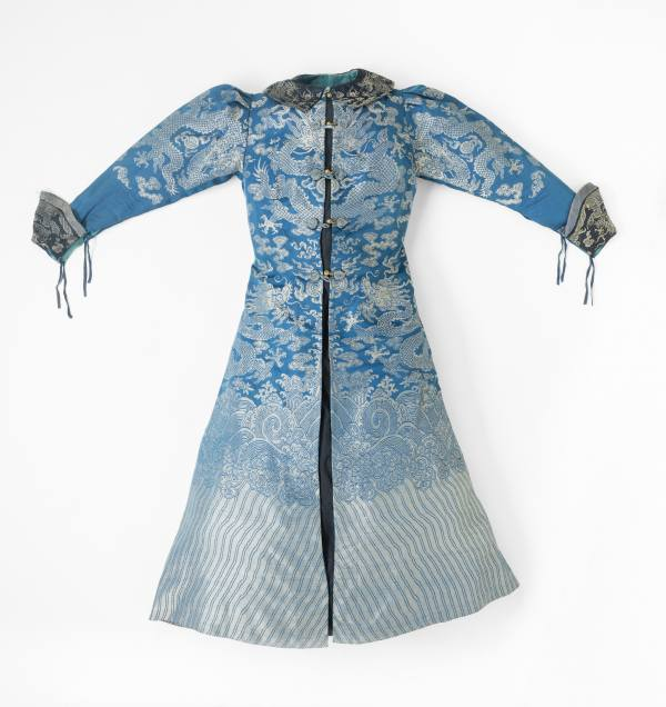 Court dragon robe, China, Qing dynasty, 19th century